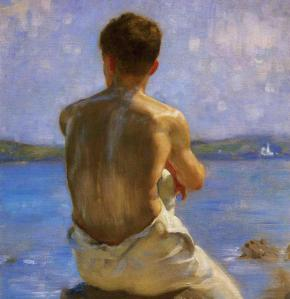 """The Lighthouse"" de Henry Scott Tuke"