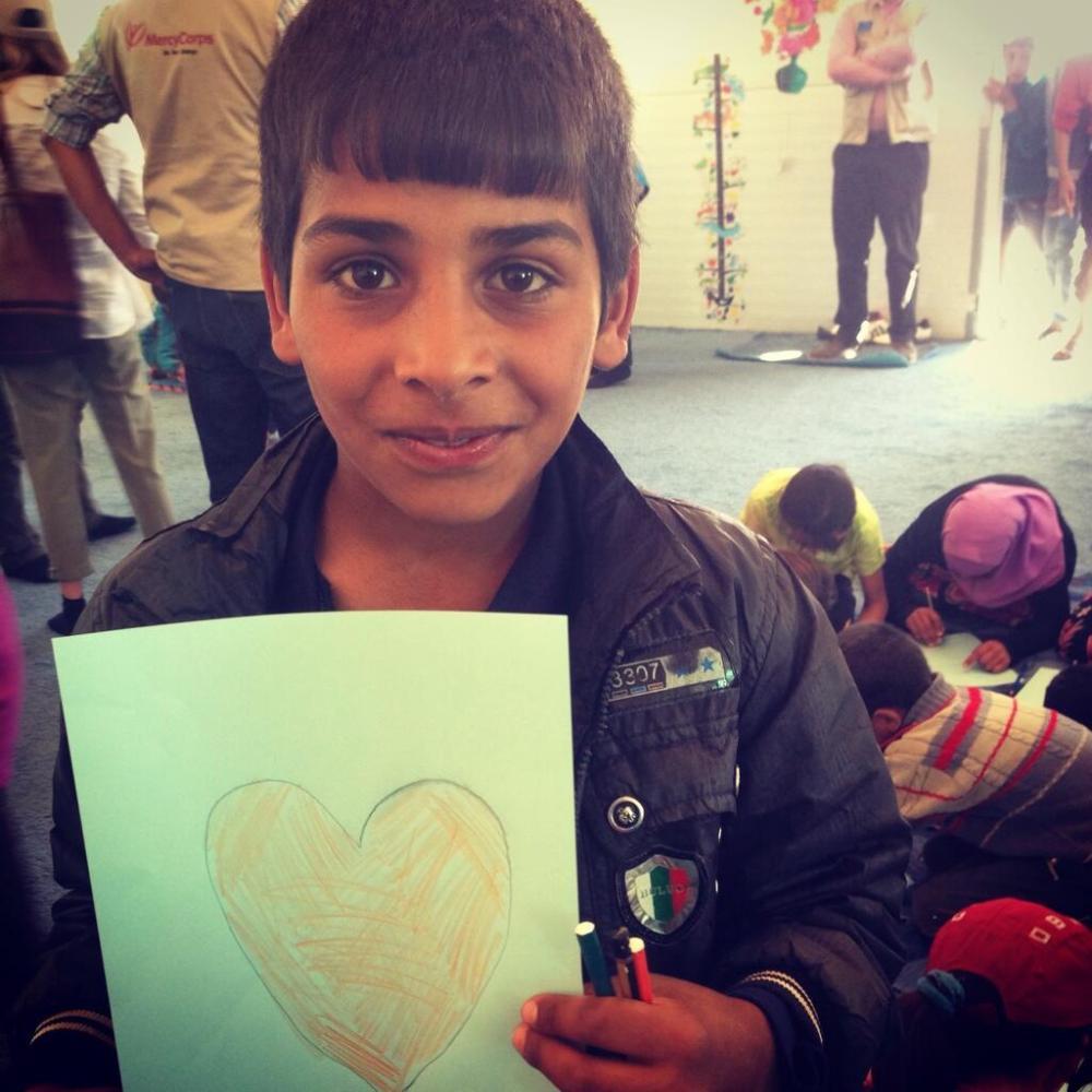 Ali, au camp pour réfugiés d'Azraq, Jordanie, mai 2014. (Crédit photo: Aoife McDonnell)4.